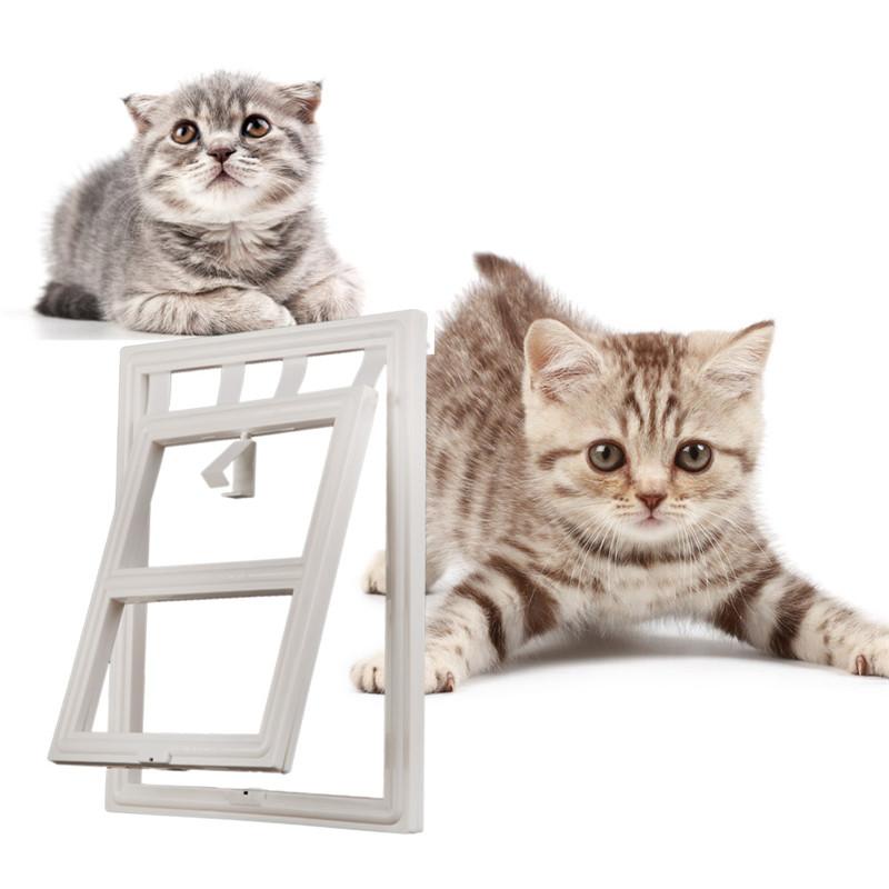 Новый собака кошка Китти домашние дверь