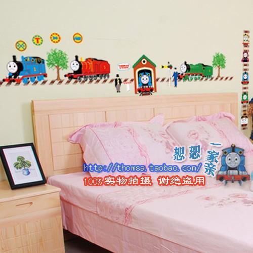 توماس القطار كيد الكرتون ملصقات الحائط ديكور الغرفة ld1216 صبي ملصقا إزالة الجدار(China (Mainland))