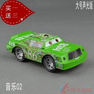 Domestic Large acoustooptical WARRIOR 2 alloy toy car 86