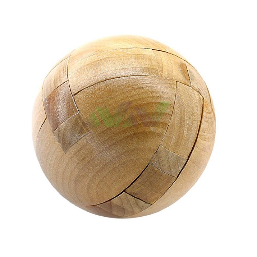 7*7*7cm Intelligence Locks Old China Ancestral Locks Traditional Wooden Brain Teaser Puzzle Educational Toys Magic Cube balls(China (Mainland))