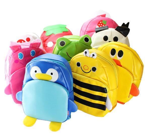 Children Cute Pu Leather Backpack Kids Cartoon Animal School Bag Kindergarten Satchels Mochila Bolsas - Creativity Bag,Creativity Life(/Drop-Shipping store)