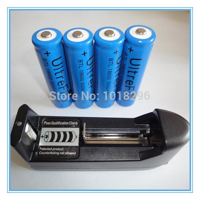 Аккумулятор Rechargeable Battery AAA AA 18650 16340 14500 10440 + 4 * 18650 5000mAh 3.7V