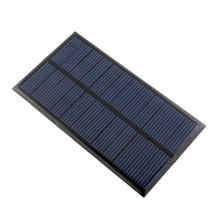 Mini 6V 1W Solar Panel Solar System Module DIY For Battery Cell Phone Chargers Portable Drop Shipping(China (Mainland))