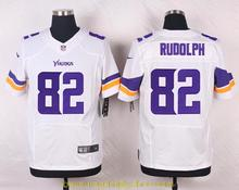 Men's free shiping A+++ quality Minnesota Vikings #82 Kyle Rudolph Elite(China (Mainland))
