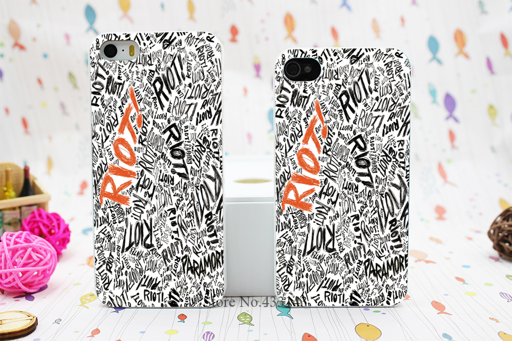 riot paramore Style Hard White Skin Case Cover iPhone 5 5s 5g 4 4s 4g - Shenzhen ZhuoYou Technology Co.,LTD store