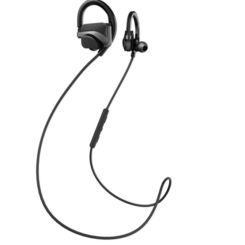 H9 Bluetooth Wireless Stereo font b Headphone b font With Mic Universal Black Earphone Handsfree For