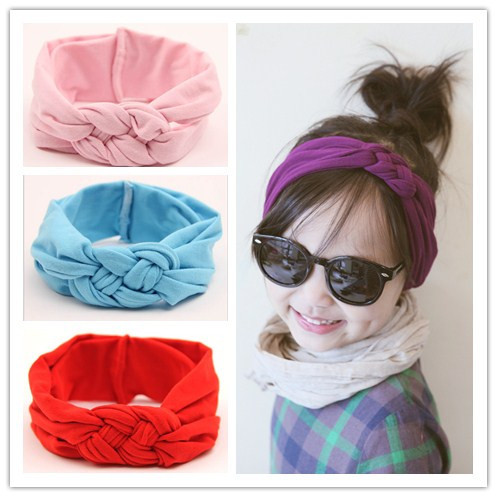 baby girls braided knot twisted turban headband elastic for hair head bands wraps headbands accessories scrunchy turbante 2015(China (Mainland))