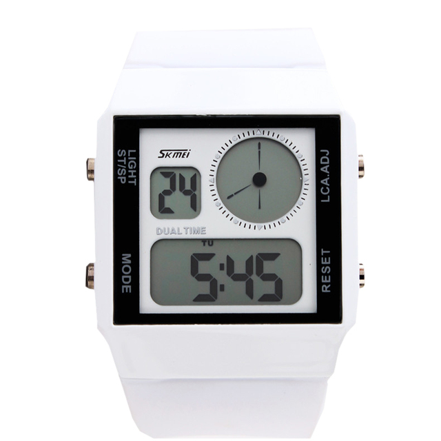 Zegarek męski SKMEI sportowy ledowy wyświetlacz różne kolory