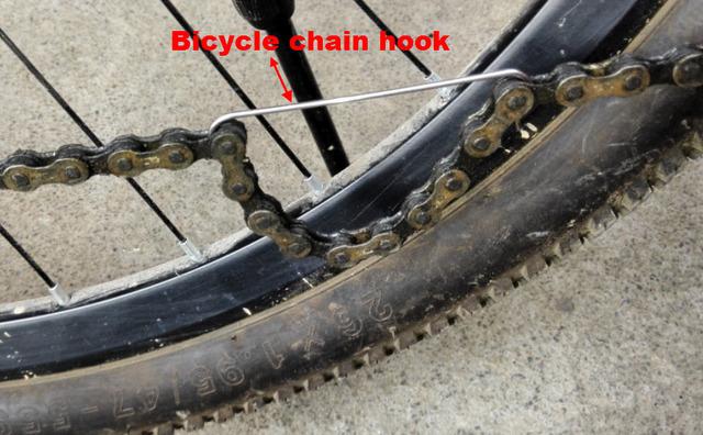 1 st ck hochwertige fahrradkette reparatur haken werkzeuge f r kette breaker splitter radfahren. Black Bedroom Furniture Sets. Home Design Ideas