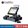 Ultrathin Touch Screen Monitor 15 Inch Cashier Register Computer Pos Pc All In One Suppermarket Equipment