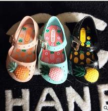 kids shoes boys girls Children's sandals Pineapple fruit hole hole GuoDongEr 'shoes in summer Children's shoes kids sandals 4376