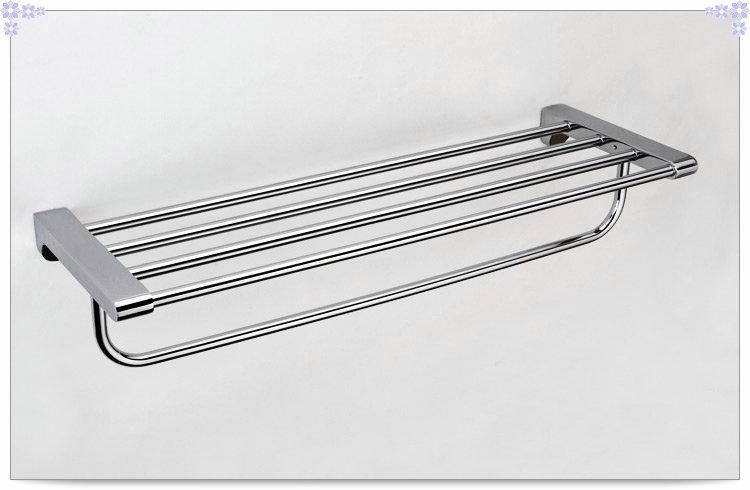 Фотография  towel rack brass chrome clothes towel rack bathroom accessories towel racks chrome towel bar CS008F-1 single cold