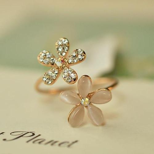 Купить Ювелирные изделия и часы  Top Sales Fashion brand new design wedding jewelry, Romantric Opal Rhinestone Ring for women toe ring 2015  wholesale None