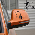 Dependable Fashion Child Design 3D Decoration Sticker For Car Side Mirror Rearview Ma18