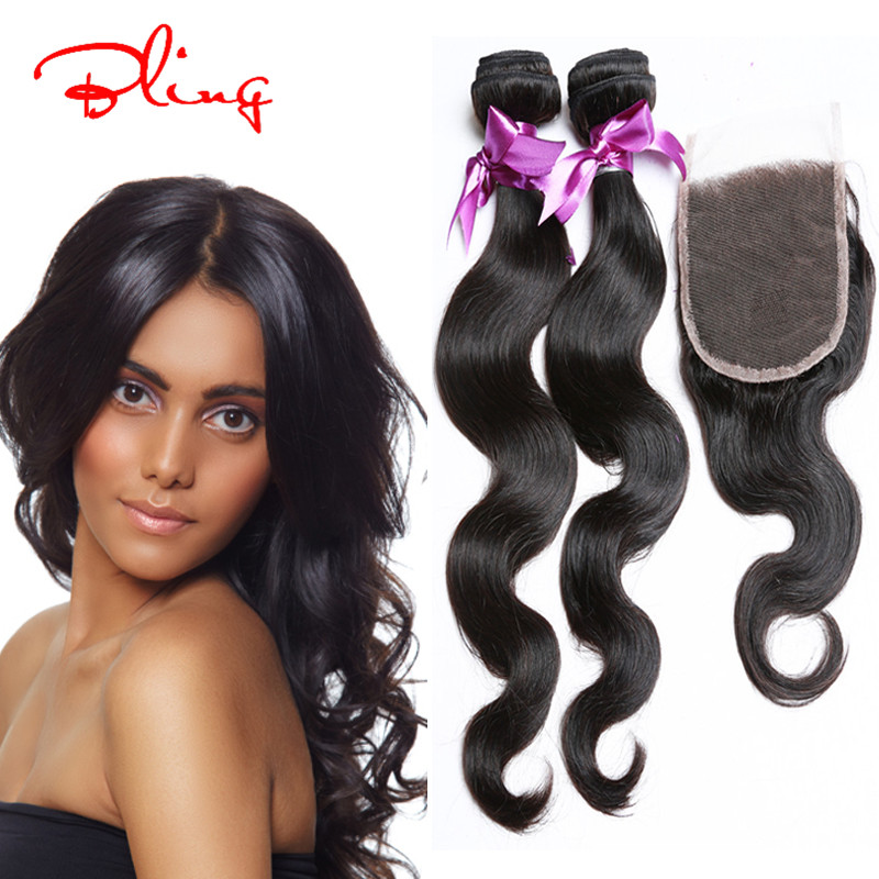 Peerless Indian Body Wave With Closure 7A Virgin Unprocessed Human Hair With Closure Virgin Body Wave Bundles With Closure <br><br>Aliexpress
