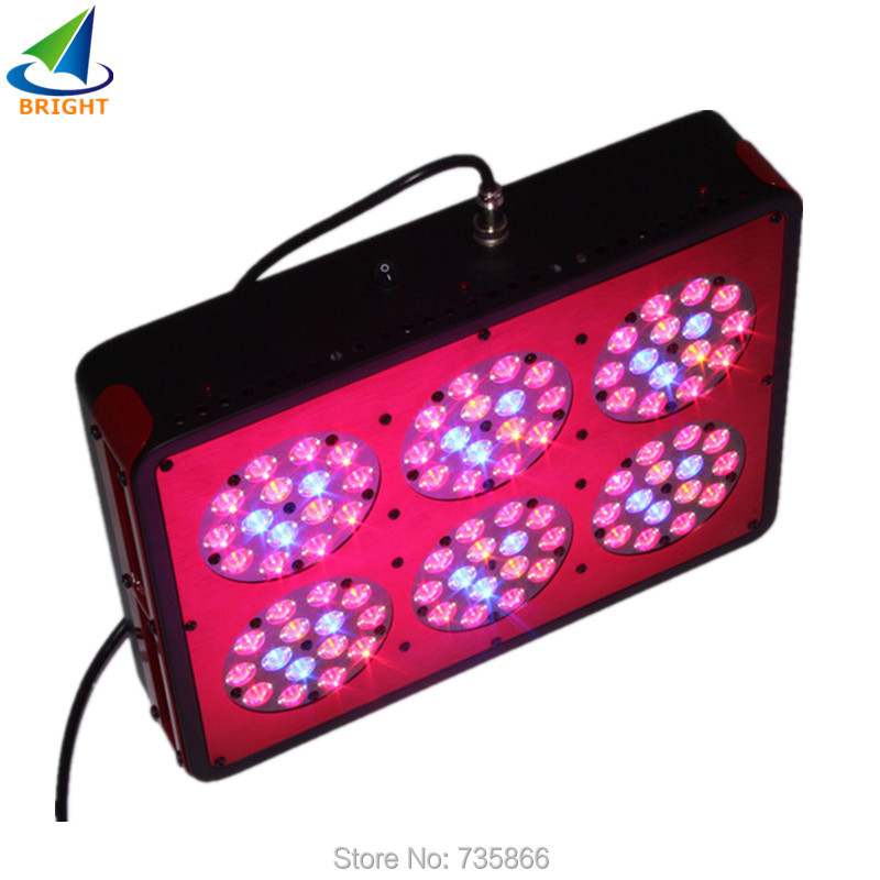Hot sale Red&Blue Led plant light Apollo 6 90*3W led grow lights for indoor plants with Free shipping(China (Mainland))