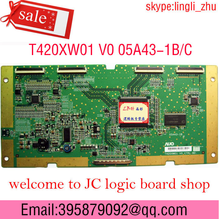 LCD Board 42A3000C T420XW01 V0 05A43-1B,05A43-1C Logic board New stock Best price good service - The professional logic of JC Technology store