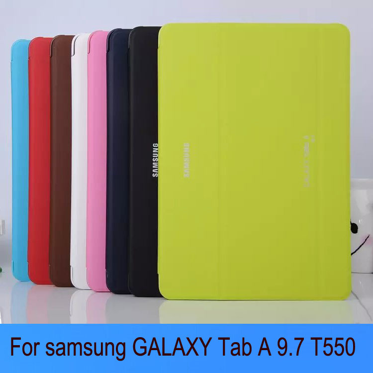 hot Business Stand Tablet Cover Case For Samsung Galaxy Tab A 9 7 T550 T555 Tablet