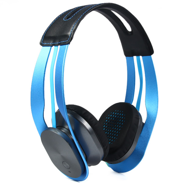 Фотография Syllable G600 Blue Wireless Stereo Bluetooth 4.0 HIFI Adjustable 3.5mm Headphone Earphone Headset For Smart Phone/PC