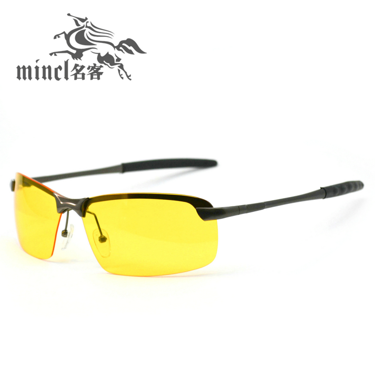 Night vision goggles night vision glasses night light luminous polarized driving glasses(China (Mainland))
