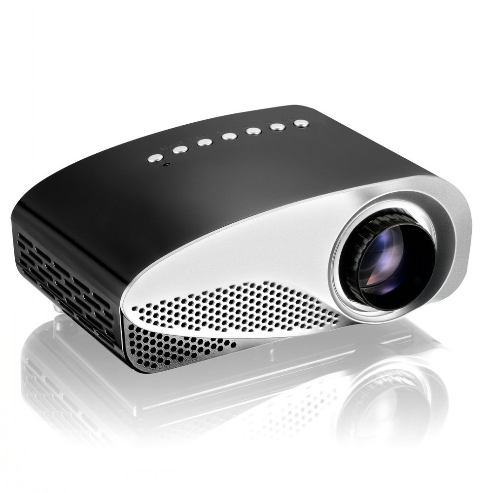 Newest RD-802 Pocket HD Led Mini Home Theater Cinema Projector Beamer ,Handheld Video Game Projector for sale with gift tripod(China (Mainland))