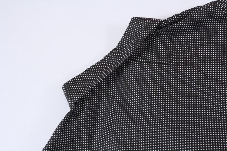 Vestido de manga longa de bolinhas Aliexpress