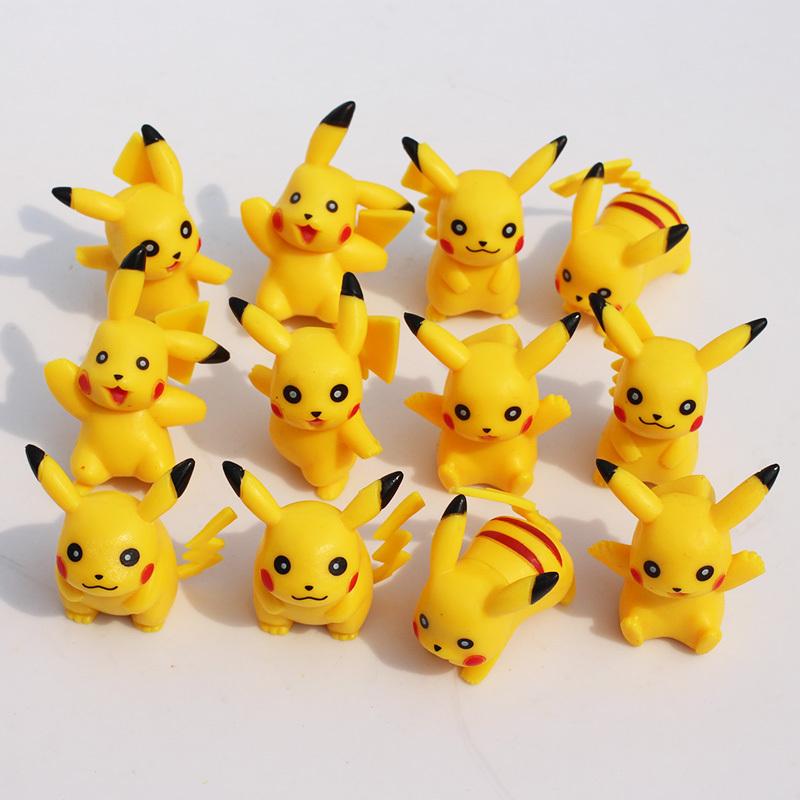 Гаджет  Pokemon Pikachu figures Umbreon Espeon Glaceon Vaporeon Plush toy figure Toys 5cm 12pcs/lot Soft Stuffed Anime Cartoon Dolls None Игрушки и Хобби