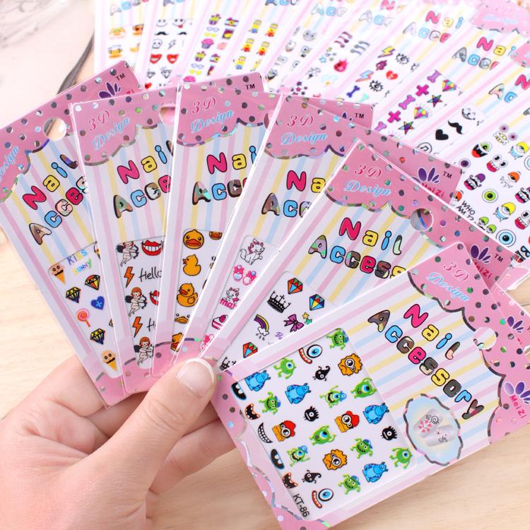 free shipping HARAJUKU nail polish oil nail art applique diamond finger sticker Nail Stickers 77270(China (Mainland))