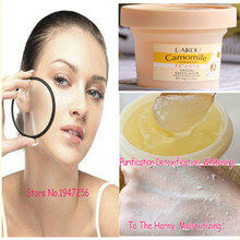 120g Natural And Organic Facial Exfoliator Exfoliating Cream Gel Face Facial Scrub Removal Whitening Peeling Cream Day Creams(China (Mainland))