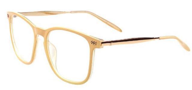 Trend vintage plain kar eyeglasses frame fashion metal big ...