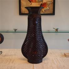 Home decoration bamboo vase vintage props fashion bar decoration flower vase(China (Mainland))