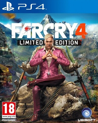 PS4 game 4 Far Far cry Cry4 hk digital downloads Rent not rent certification day by day(China (Mainland))