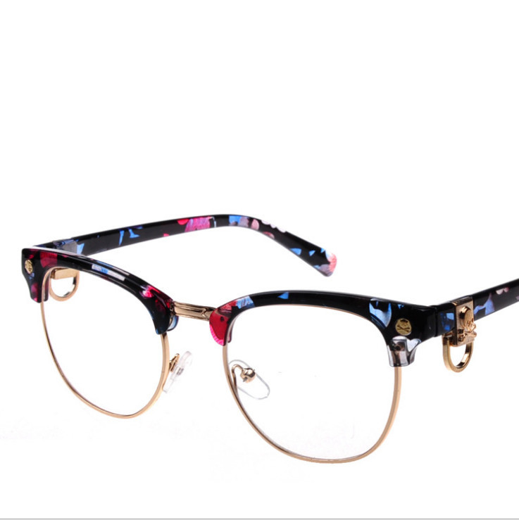 Designer Rimless Eyeglasses : Fashion Eyeglasses Retro Men Women Designer Eyeglasses ...
