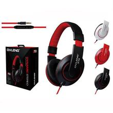 Headphones Earphone Headset Stereo Wired Head Phone with Microphone for MP3 Game Computer PC Mobile Headphone Earphones X13