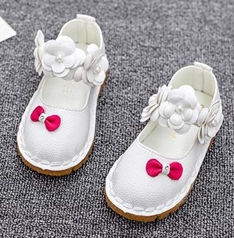 Childrens leather shoes spring 2016 fashion brand girls single flower princess casual wedding shoes kids infantis 511a<br><br>Aliexpress