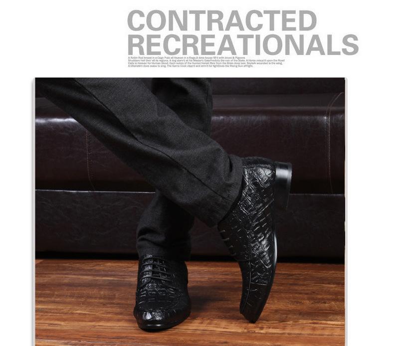 Крокодил Зерна Из Натуральной Кожи Оксфорд Обувь Для Мужчин, повседневная Мужчины Оксфорд, мужчины Бизнес Обувь, мужчины Платье Обувь Плюс Размер 45-50
