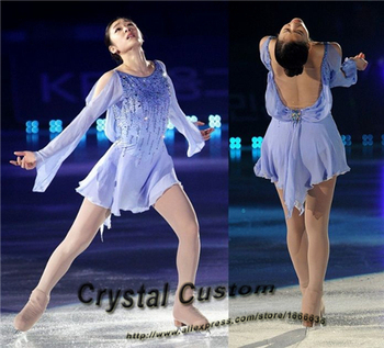 Ice Figure Skating Dress For Kids Fashion New Brand Figure Skating Dress For Competition DR3532