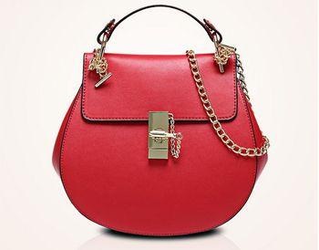 Новинка роскошные сумки женщин PU кожаный сплошной цвет сумки на ремне известный дизайнер девушки цепь Crossbody сумки Bolsas дрю мешок