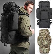 80L Waterproof Sports Tactical Camping Hiking Backpack Luggage Rucksack Bag New(China (Mainland))