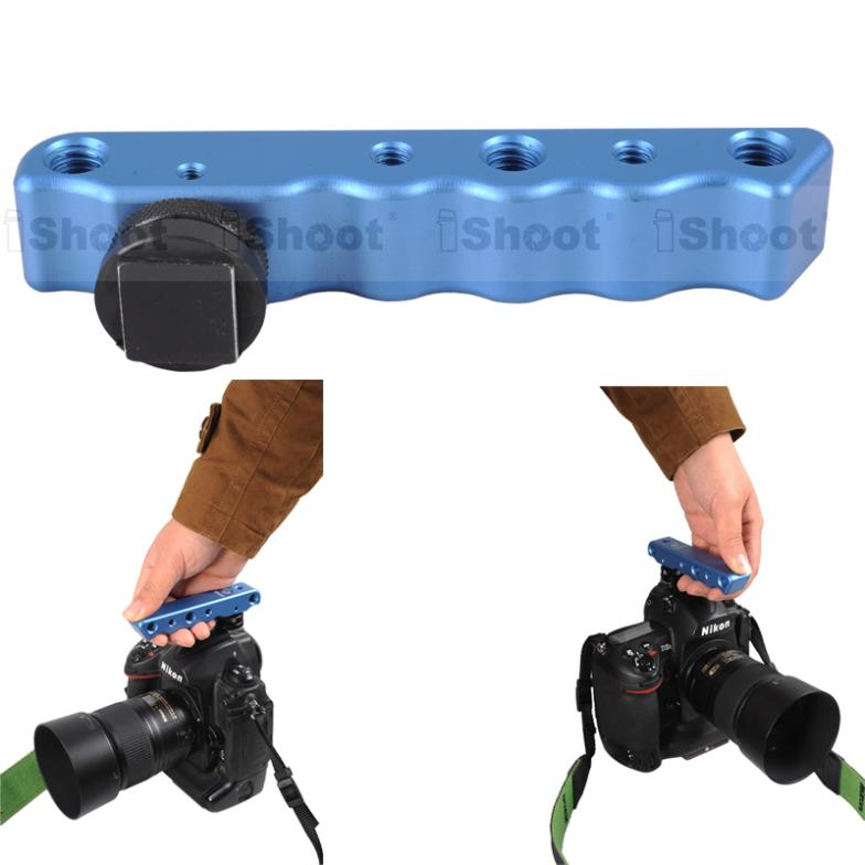 Metal Handheld Video Camera Bracket Holder Stabilizer for Canon Nikon, Pentax K-3/K-5/K-5 II/K-5 IIs/K-30/K-50 Sigma DP3M/DP3(China (Mainland))