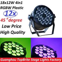 Buy 12xLot 2017 LED Flat Par 18x12W RGBW DMX Stage Lights Business Lights High Power Light Professional Party KTV Disco DJ for $650.00 in AliExpress store