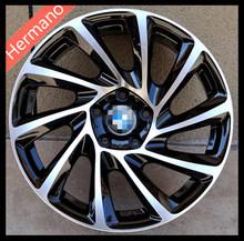 MATT BLACK FACE 18x8.5 inch PCD 5X120 Offset +30mm Bore 72.56 Car Wheels Rims for BMW Mindray treasure Regal(China (Mainland))