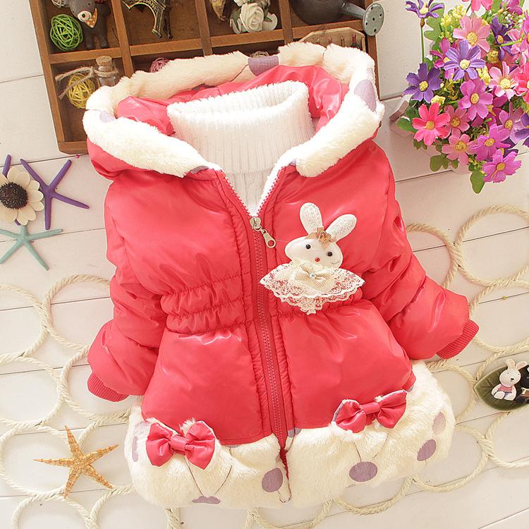 Зимняя куртка для девочки фото