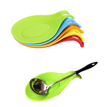 Kitchen Silicone Spoon Rest Heat Resistant Non-stick Silicone Cooking Tools Mat()