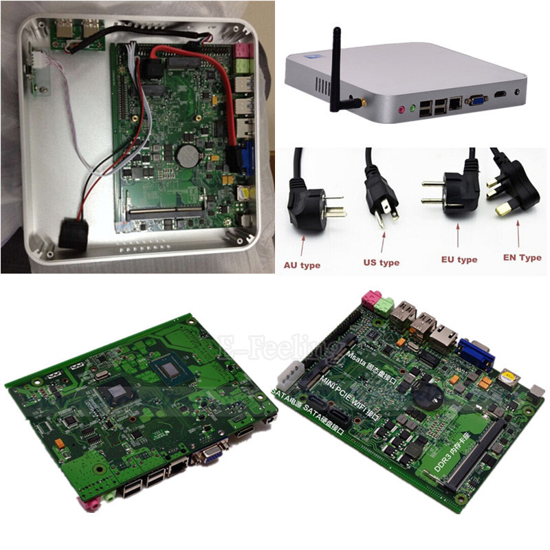 Cheap DIY Intel Server Mini PC With Celeron 1037U Dual Core 1.8GHz CPU 8G DDR3 RAM 1T HDD Can Do Wholesale DHL Free Shipping(China (Mainland))