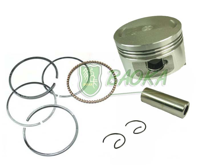 GY6 125 leopard card plugs sets Piston Piston Ring 52.4mm Fuk Hi clever imitation grid little guy(China (Mainland))