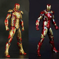 Free Shipping Action Figures Hot Toys Film Animiation Anime Figurines Iron Man 3 Action Figures 18cm