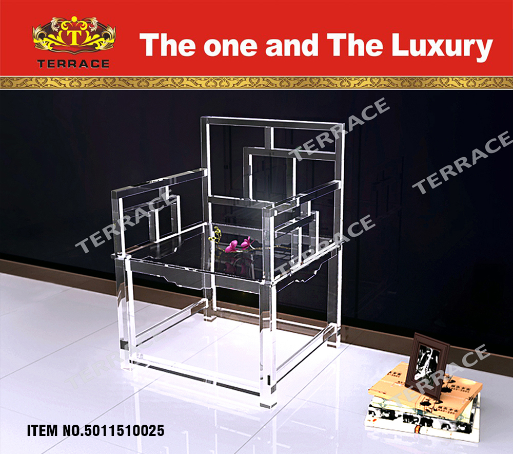 Clear Acrylic Empire chinese chair                             <br><br>Aliexpress