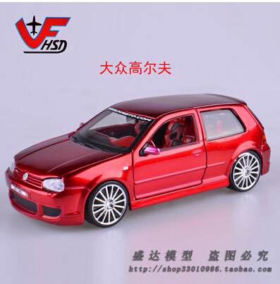 Hot sale Maisto 1:24 Volkswagen Golf Third generation Alloy car models Fast and Furious Vintage cars Classic Car Toys for boys(China (Mainland))