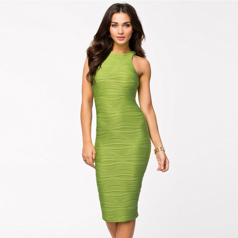 Racer Top Structured vintage classical MIDI dress sexy sundresses(China (Mainland))